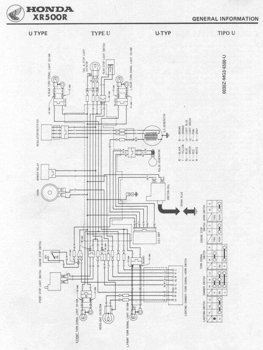 Tolle Honda Cdi Schaltplan Bilder - Der Schaltplan - triangre.info
